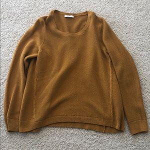 Hardly worn mustard Madewell sweater